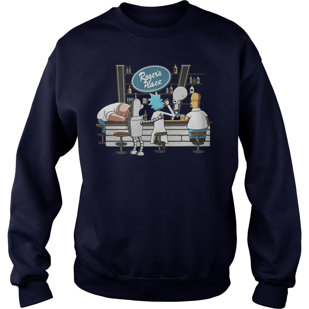 Rick Morty Roger Place Sweatshirt