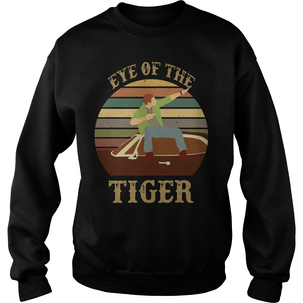 Supernatural dean eye of the tiger sunset Sweater