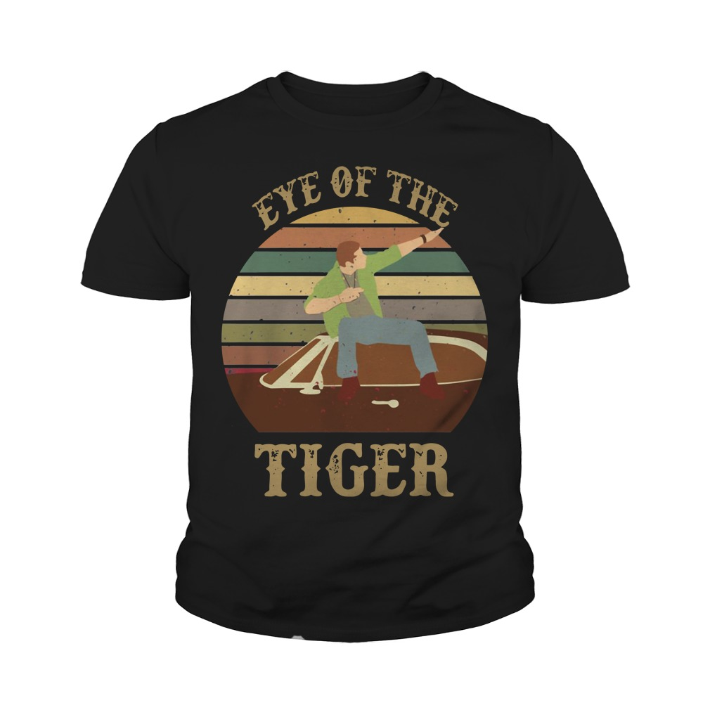 Supernatural dean eye of the tiger sunset Youth Shirt