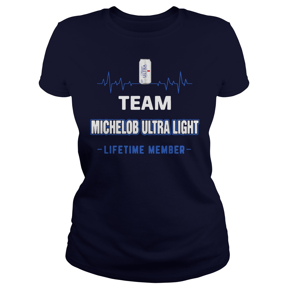 Team Michelob Ultra Light lifetime member Ladies Shirt