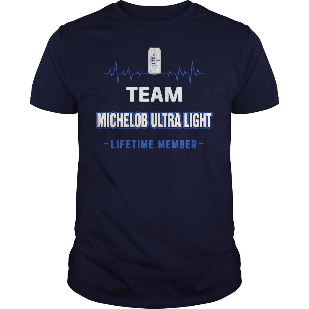 Team Michelob Ultra Light lifetime member Shirt