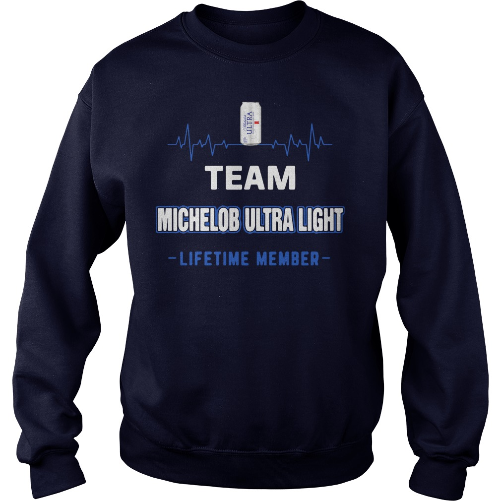 Team Michelob Ultra Light lifetime member Sweater