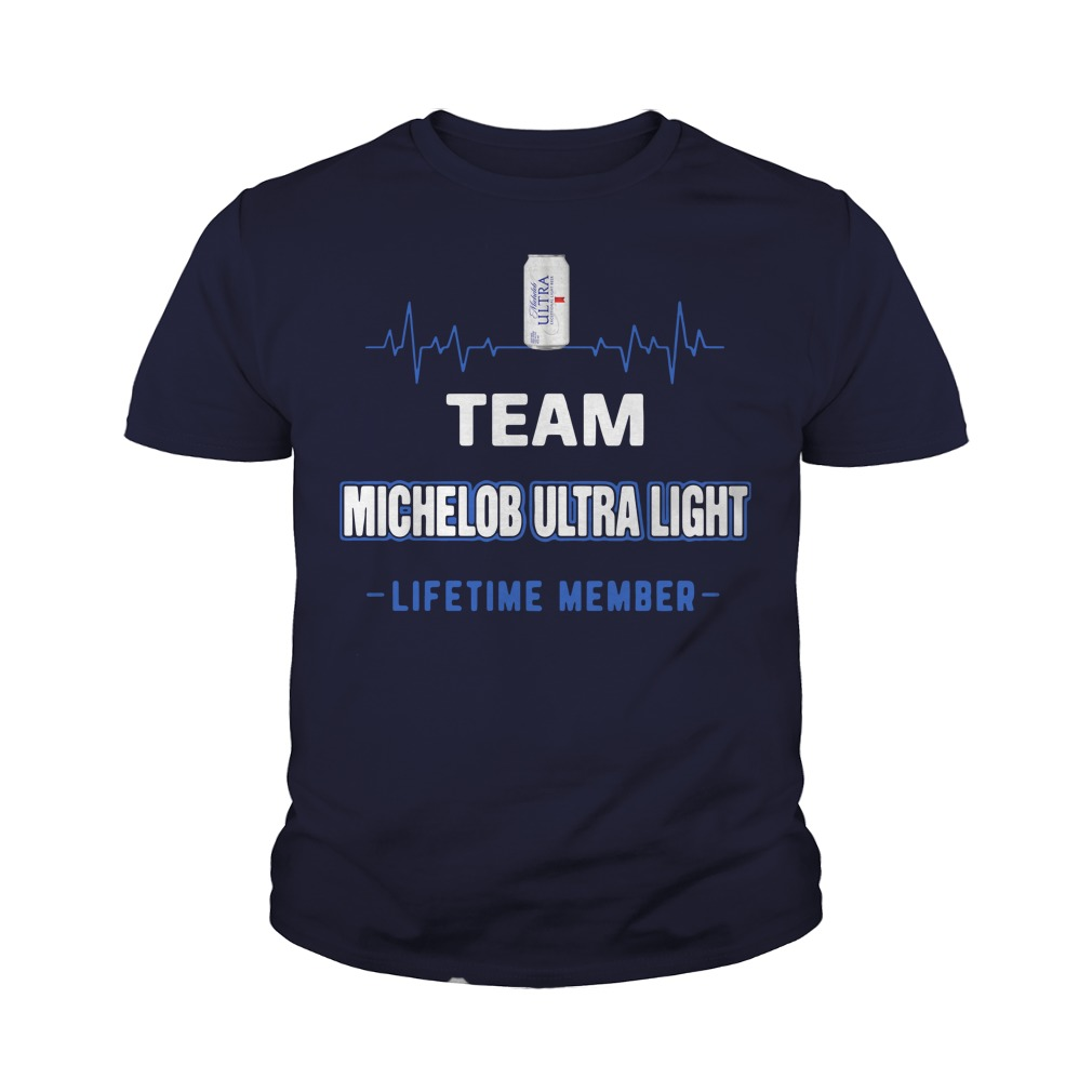 Team Michelob Ultra Light lifetime member Youth Shirt
