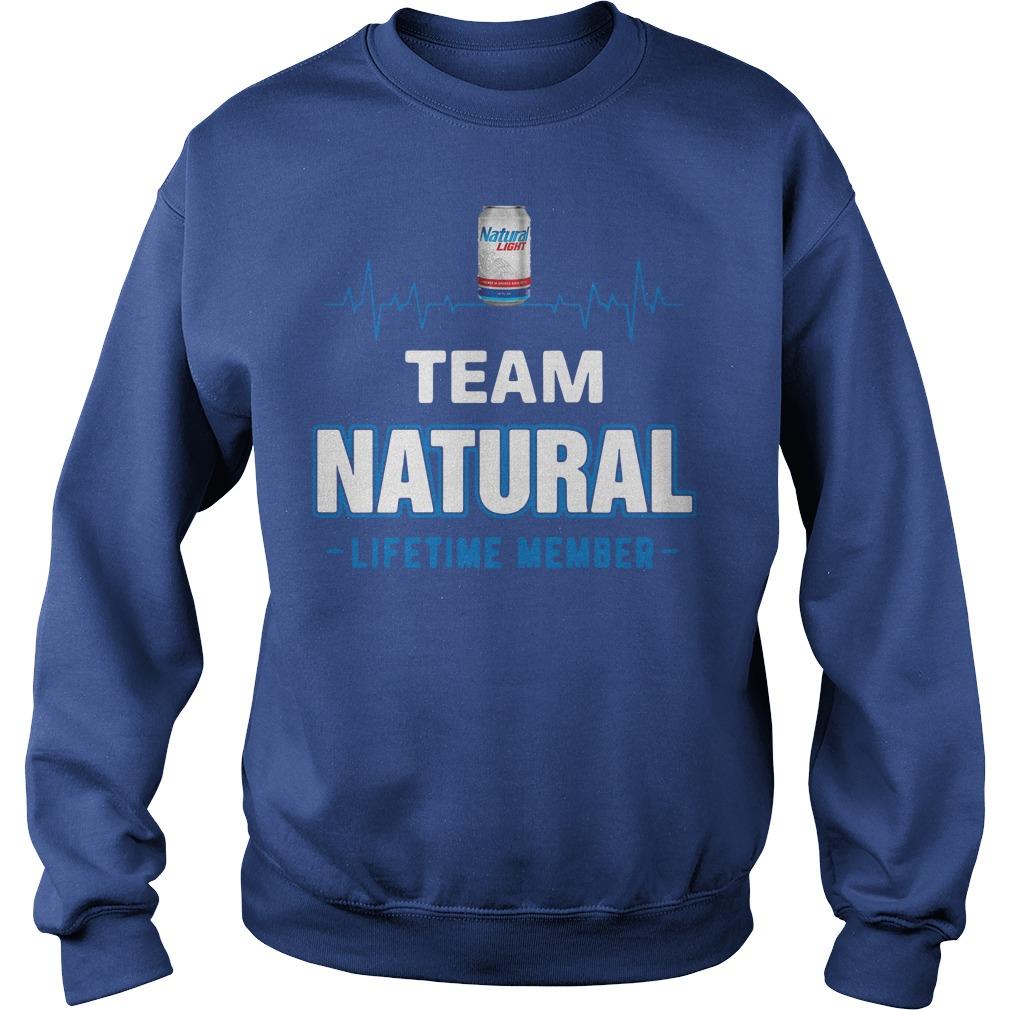 Team Natural Lifetime Member Sweater