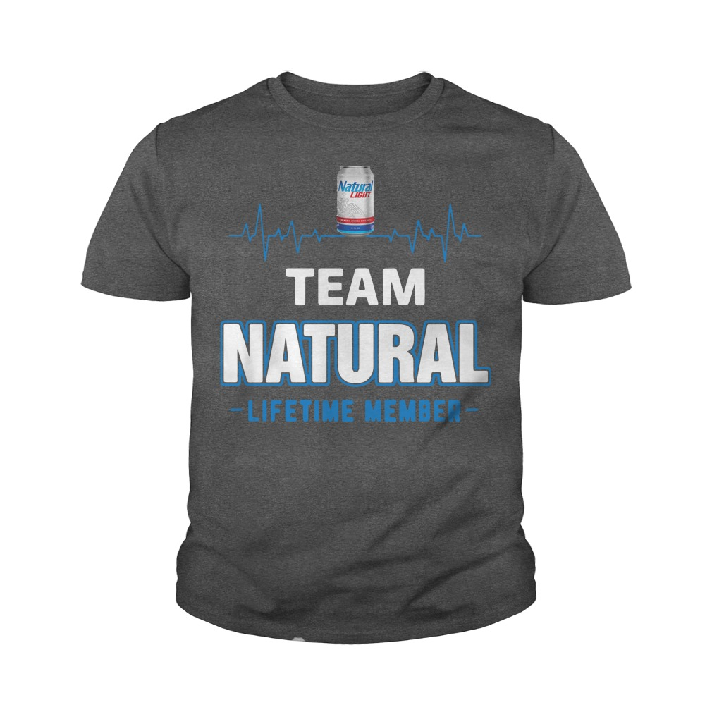 Team Natural Lifetime Member Unisex Youth Shirt
