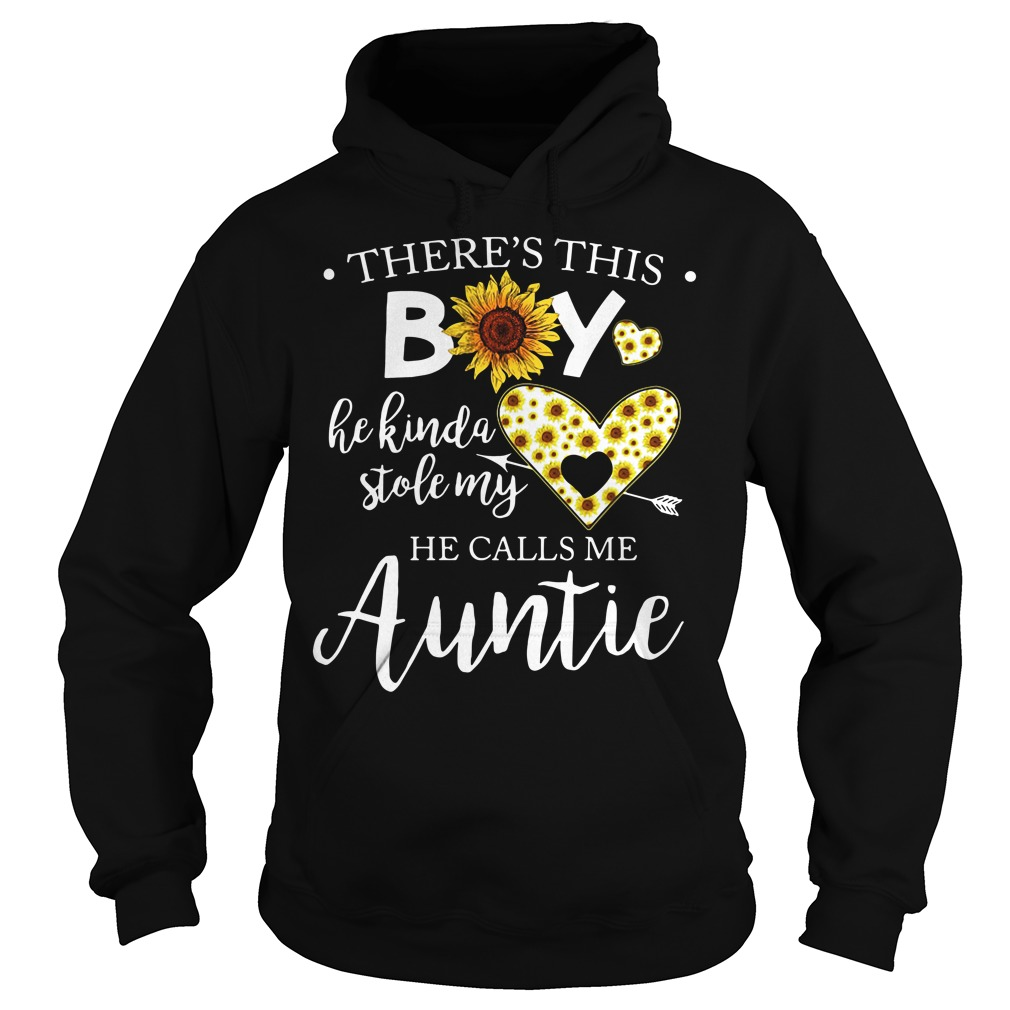 There's This Boy He Kinda Stole My He Calls Me Auntie Hoodie