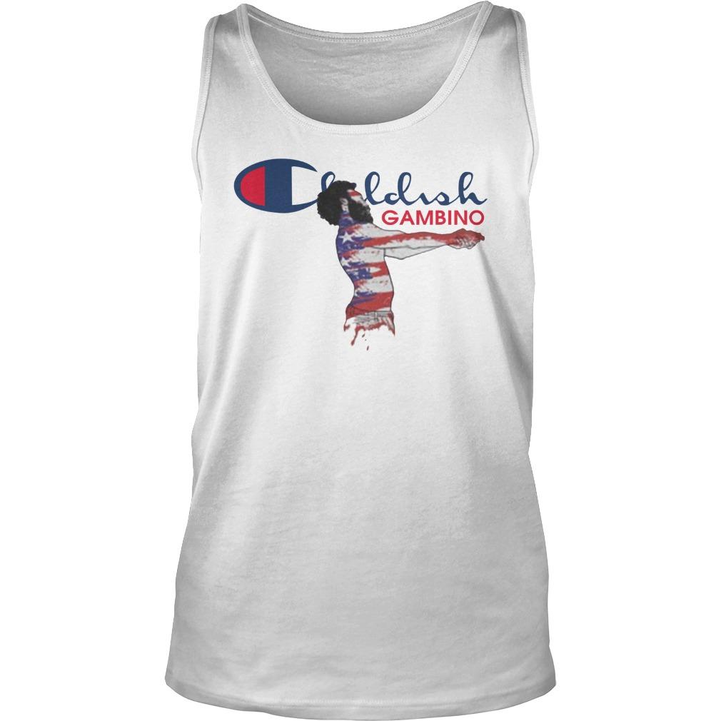 Childish Gambino Champion Shirt tank top