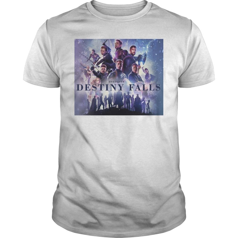 Avengers Endgame Destiny Falls Shirt