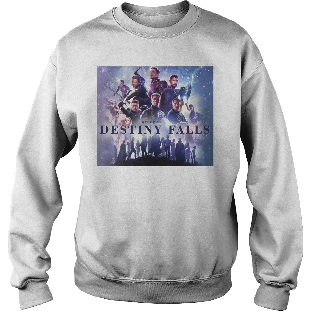 Avengers Endgame Destiny Falls Sweatshirt