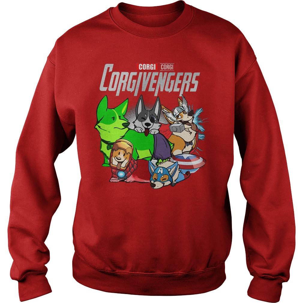 The Corgivengers Corgi Avengers Sweater