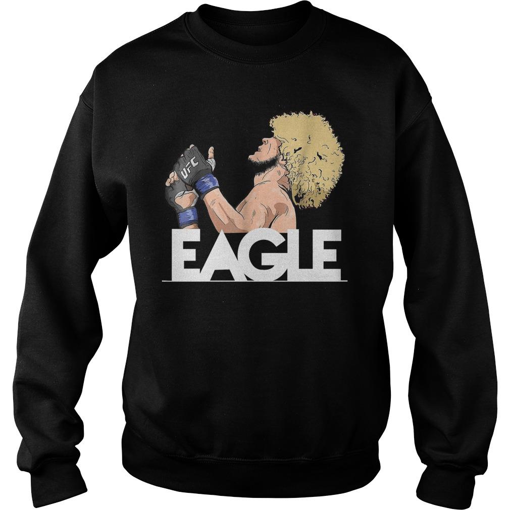 Khabib Nurmagomedov The Eagle Sweatshirt