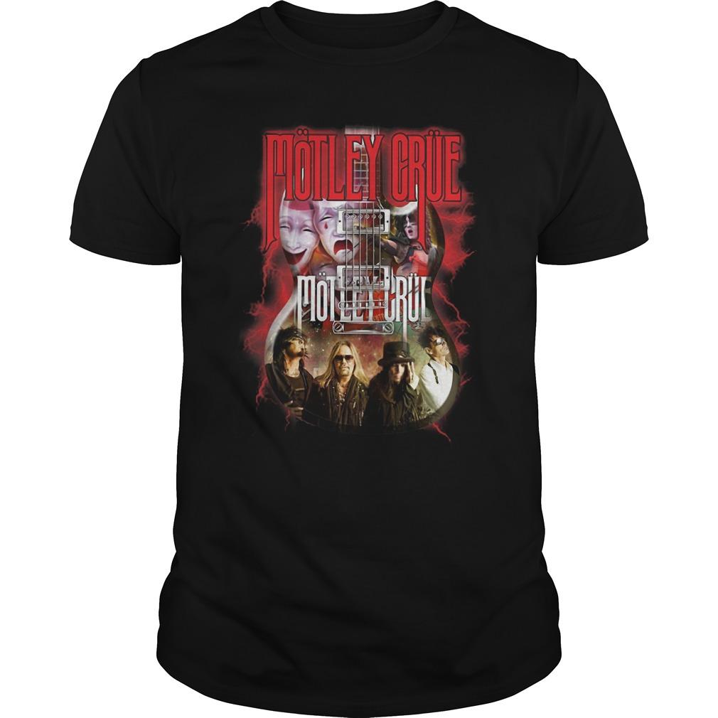 Led Zeppelin Motley Crue Guitar Guys Shirt
