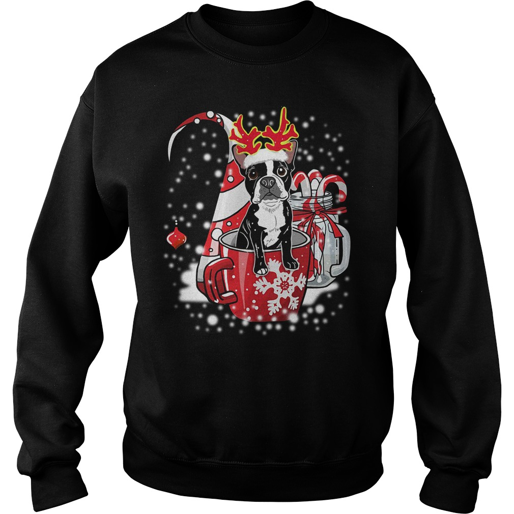 Official Boston Terrier Noel Sweatshirt