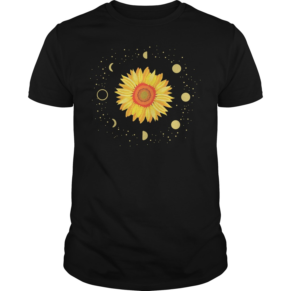 Official Moon Phases Sunflower Guys Shirt