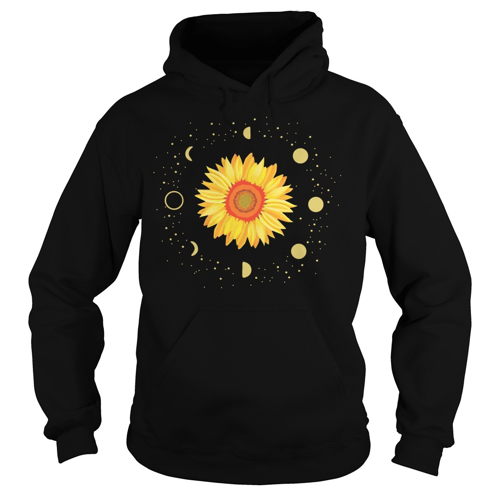 Official Moon Phases Sunflower Hoodie