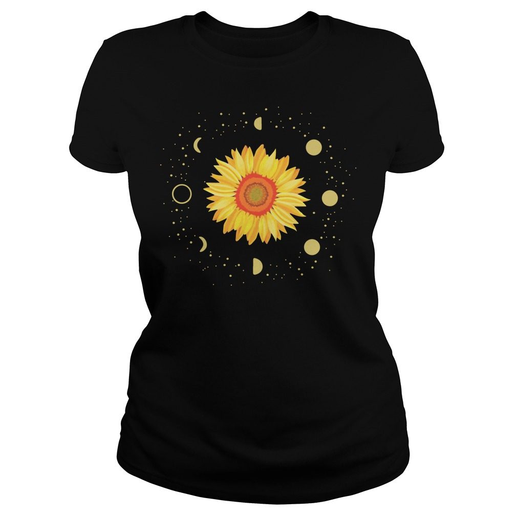 Official Moon Phases Sunflower Shirt
