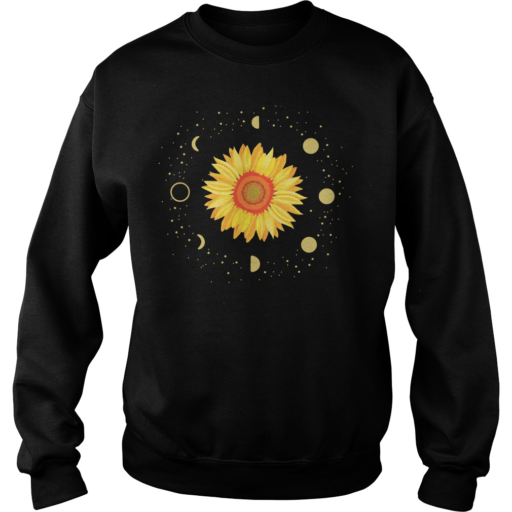 Official Moon Phases Sunflower Sweatshirt