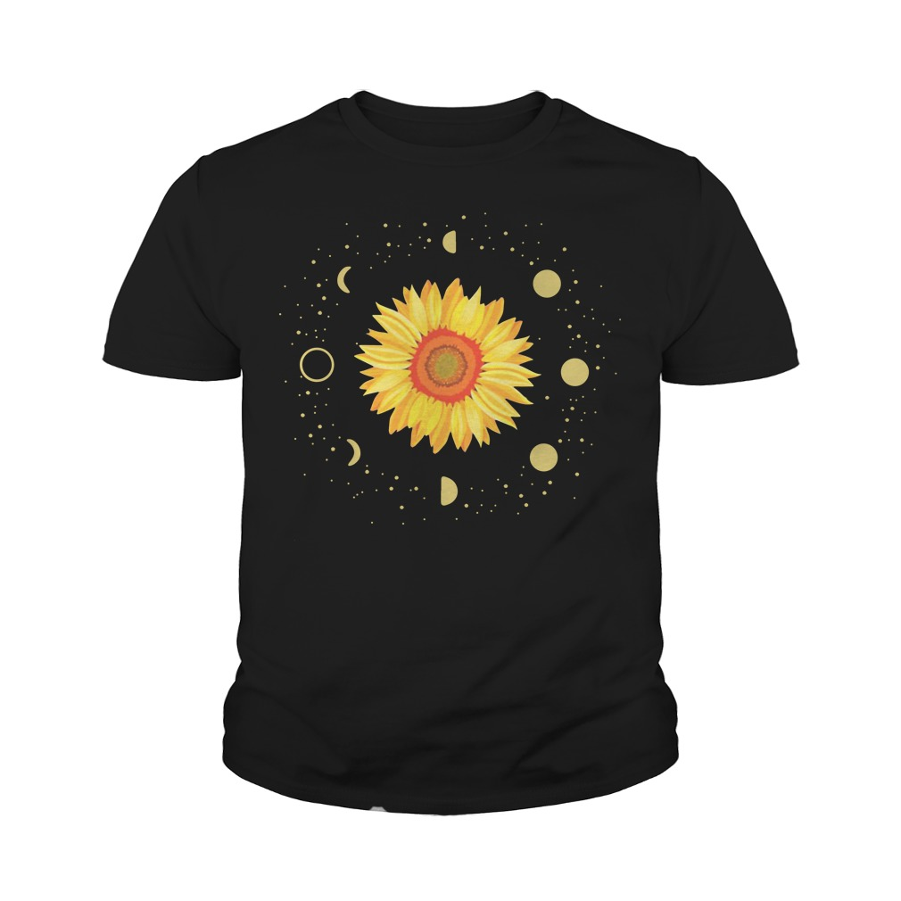 Official Moon Phases Sunflower Youth Shirt