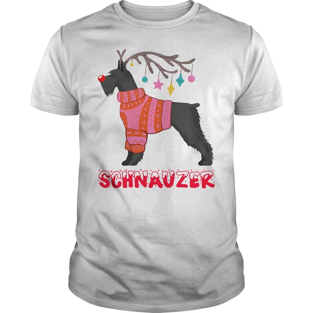 Official Schnauzer Noel Unisex Shirt