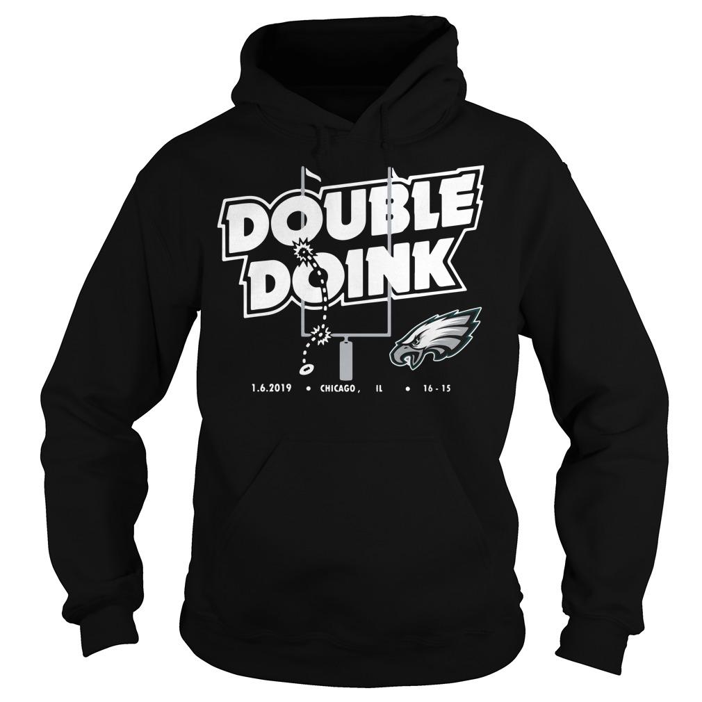 Philadelphia Eagles Double Doink Hoodie