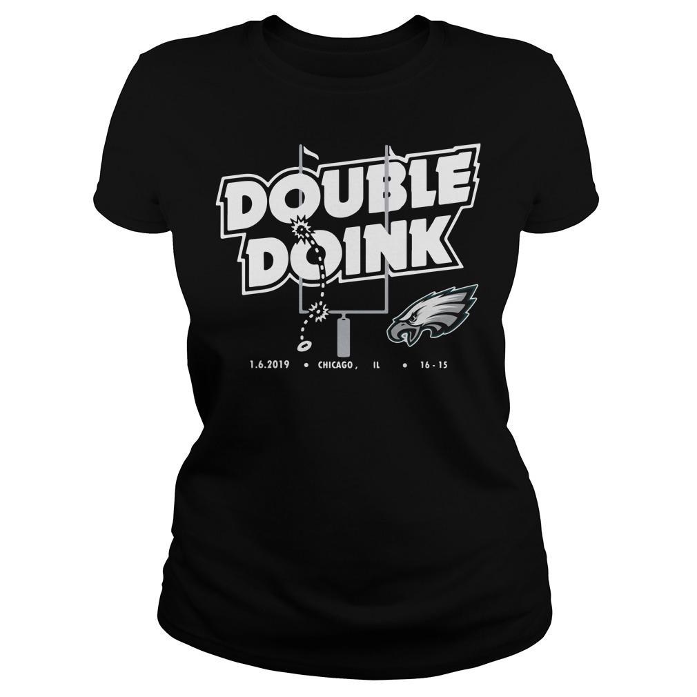 Philadelphia Eagles Double Doink Ladies Shirt