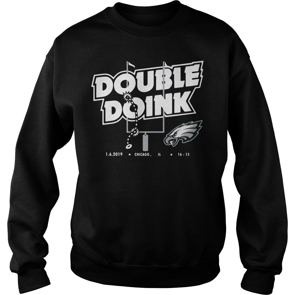 Philadelphia Eagles Double Doink Sweatshirt