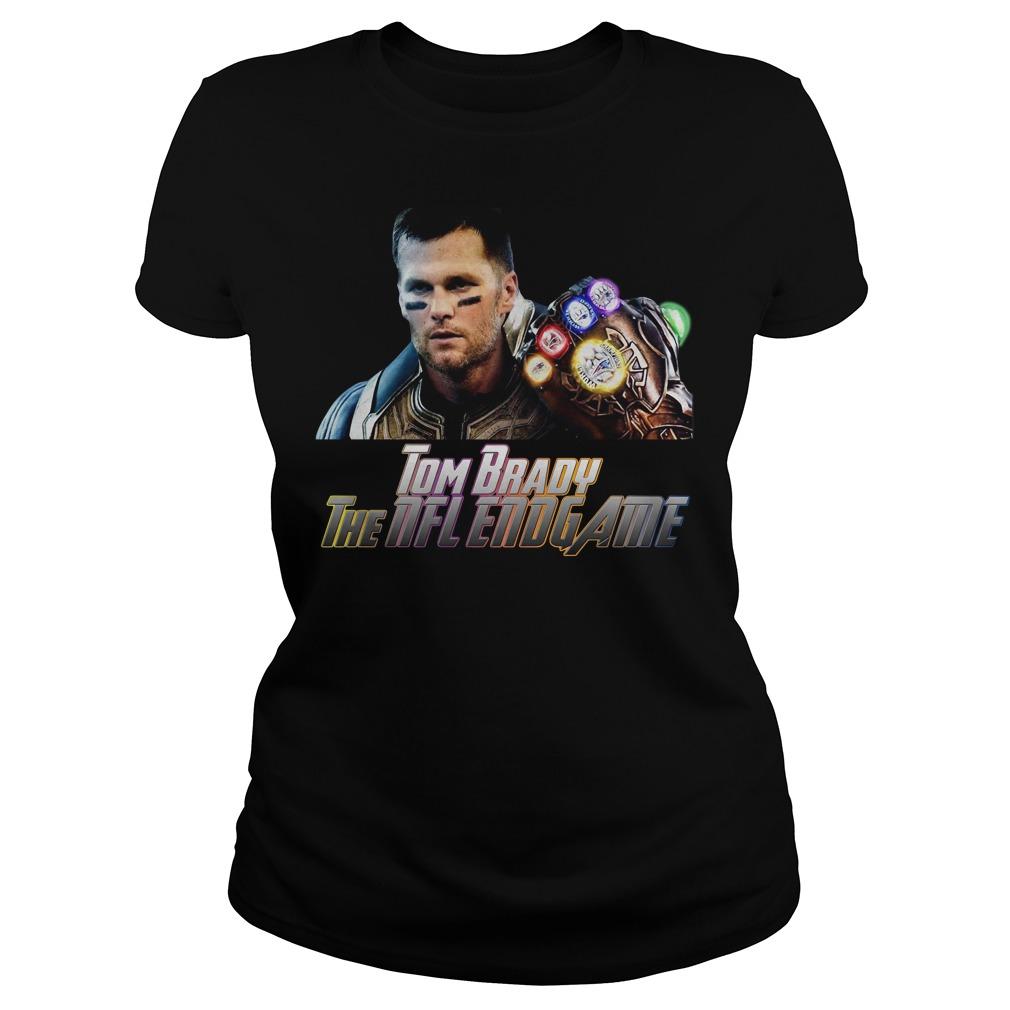Tom Brady Patriot The Nfl Avengers Endgame Ladies Shirt