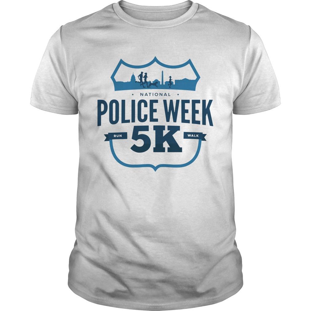 2019 National Police Week 5k Shirt