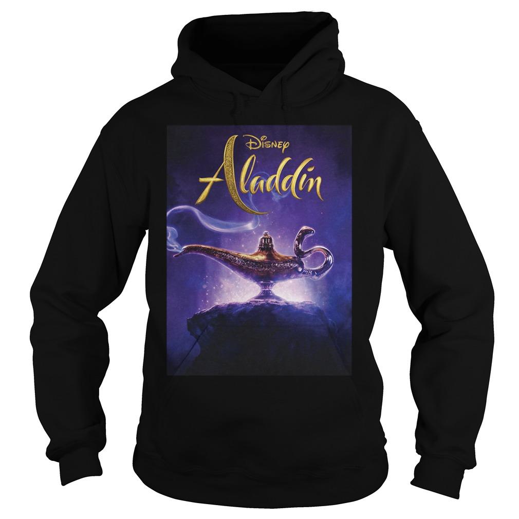 Disney Aladdin 2019 Aladdin Live Action Cover Shirt hoodie