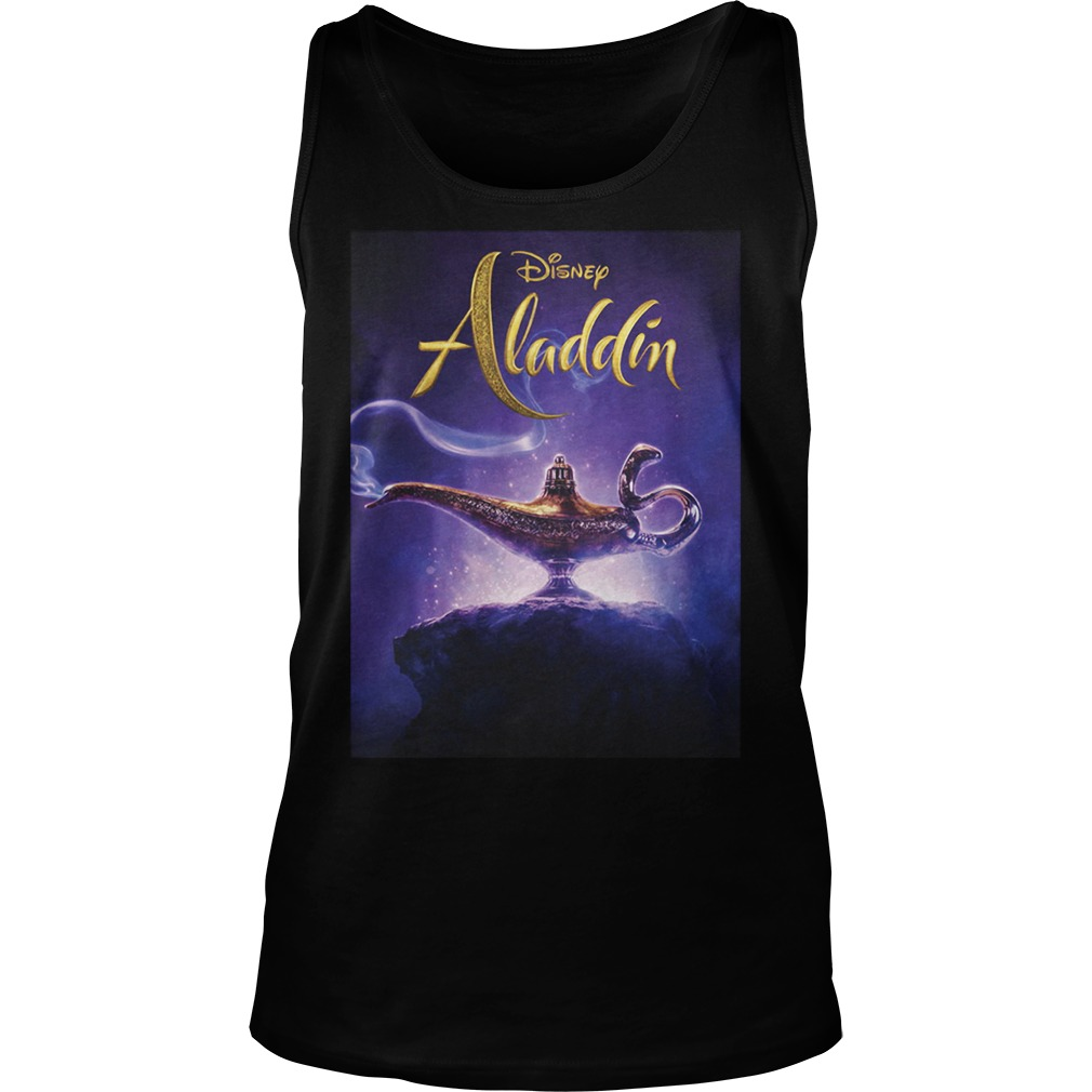 Disney Aladdin 2019 Aladdin Live Action Cover Shirt tank top