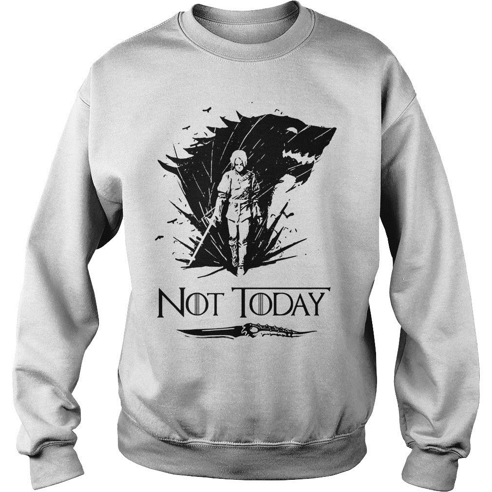 Game Of Thrones Arya Stark Got Not Today Shirt sweater