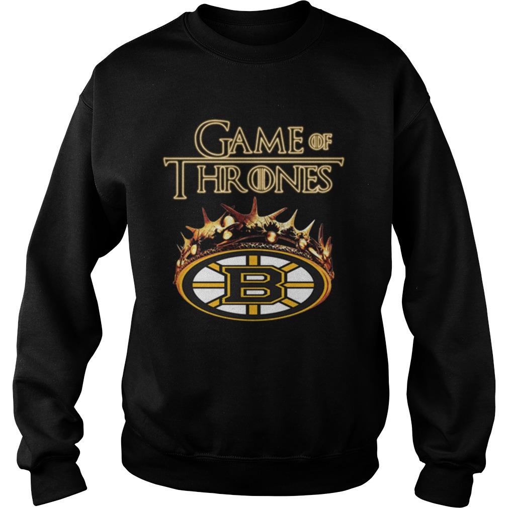 Game Of Thrones Crown Boston Bruins Shirt sweater