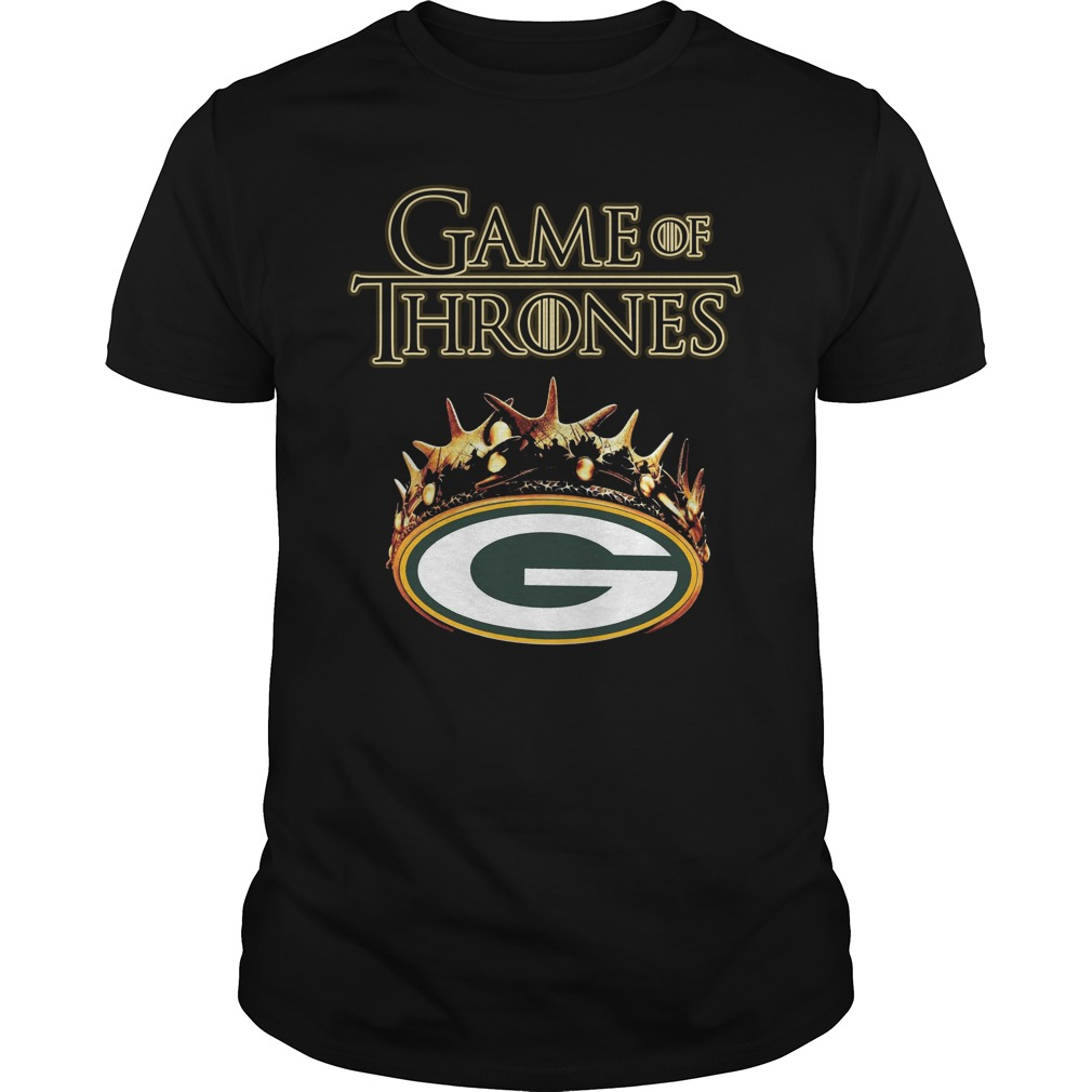 Green Bay Packers Game Of Thrones Crown Shirt