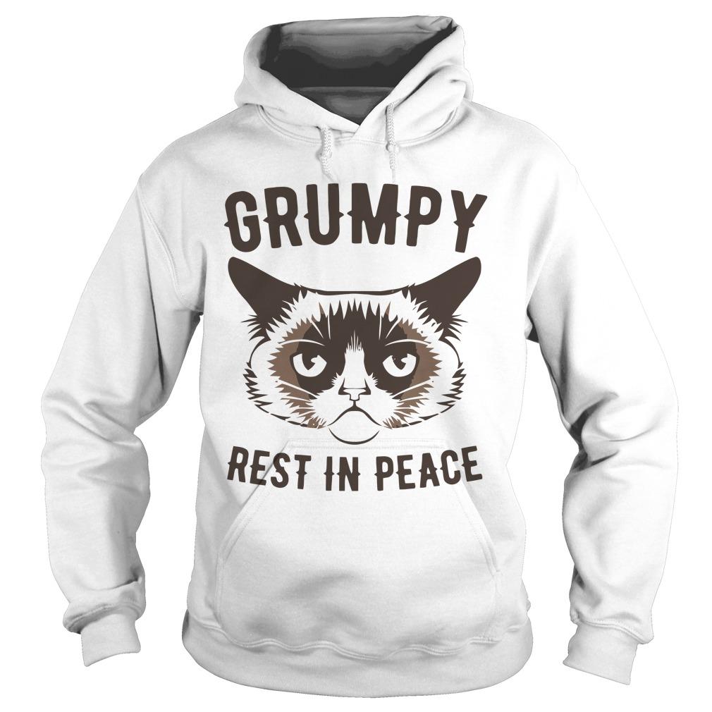 Grumpy Cat Rest In Peace Shirt hoodie