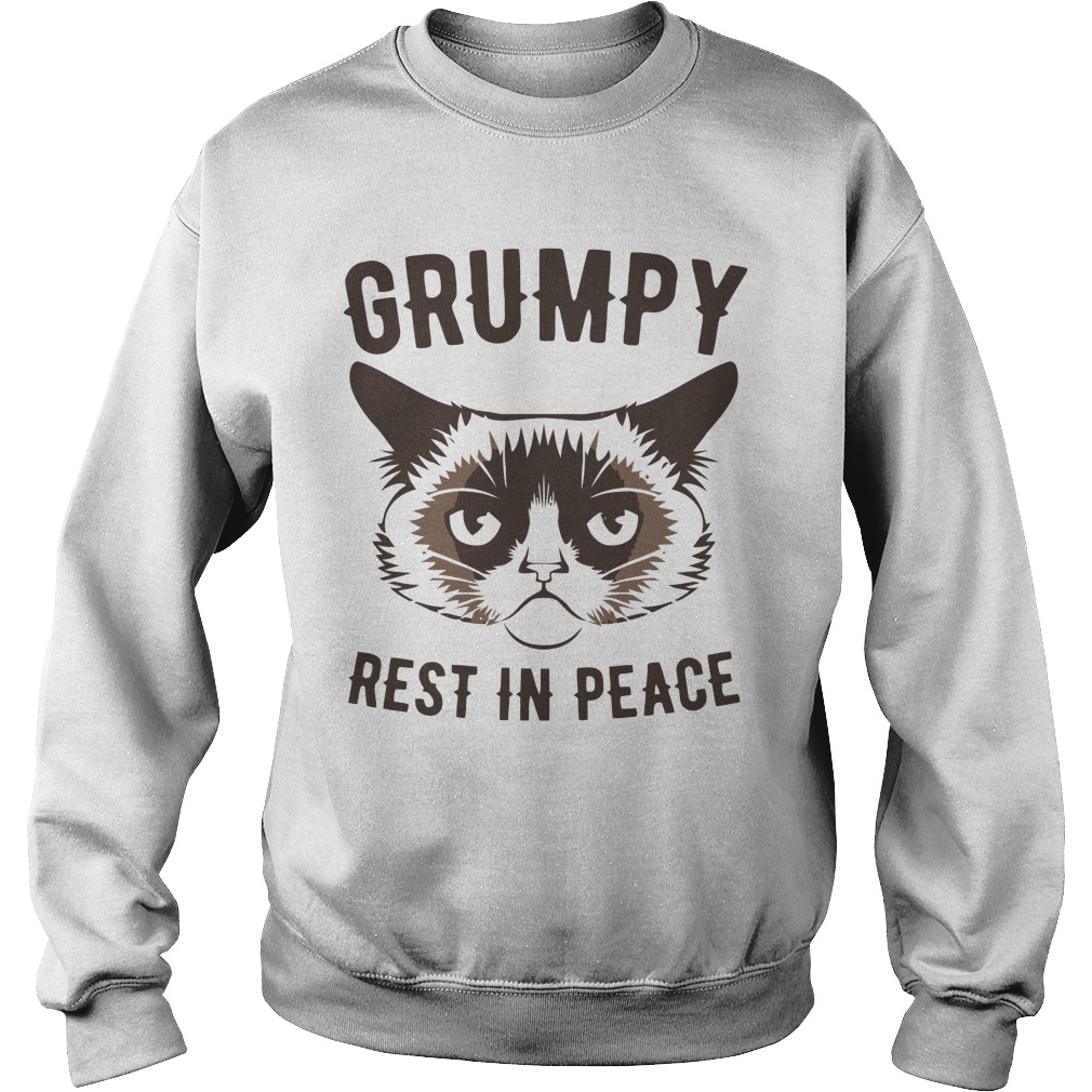 Grumpy Cat Rest In Peace Shirt sweater