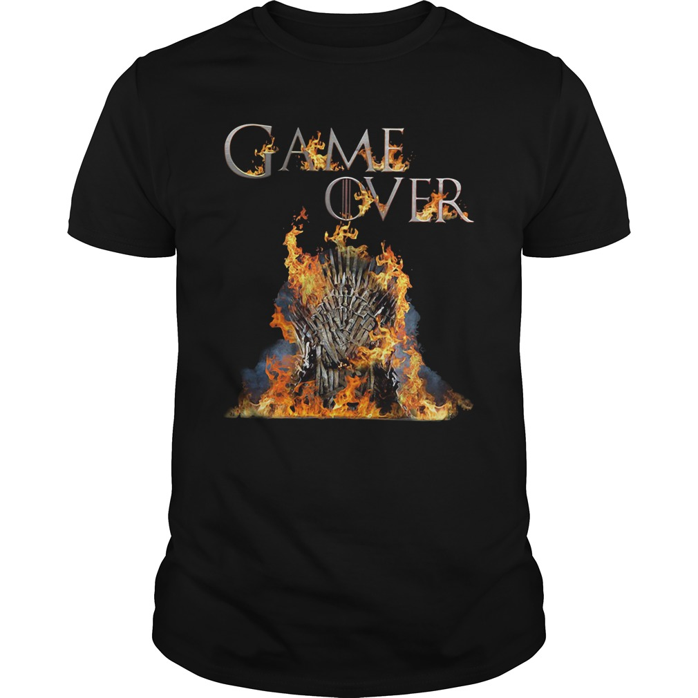 Iron Throne Game Over Shirt