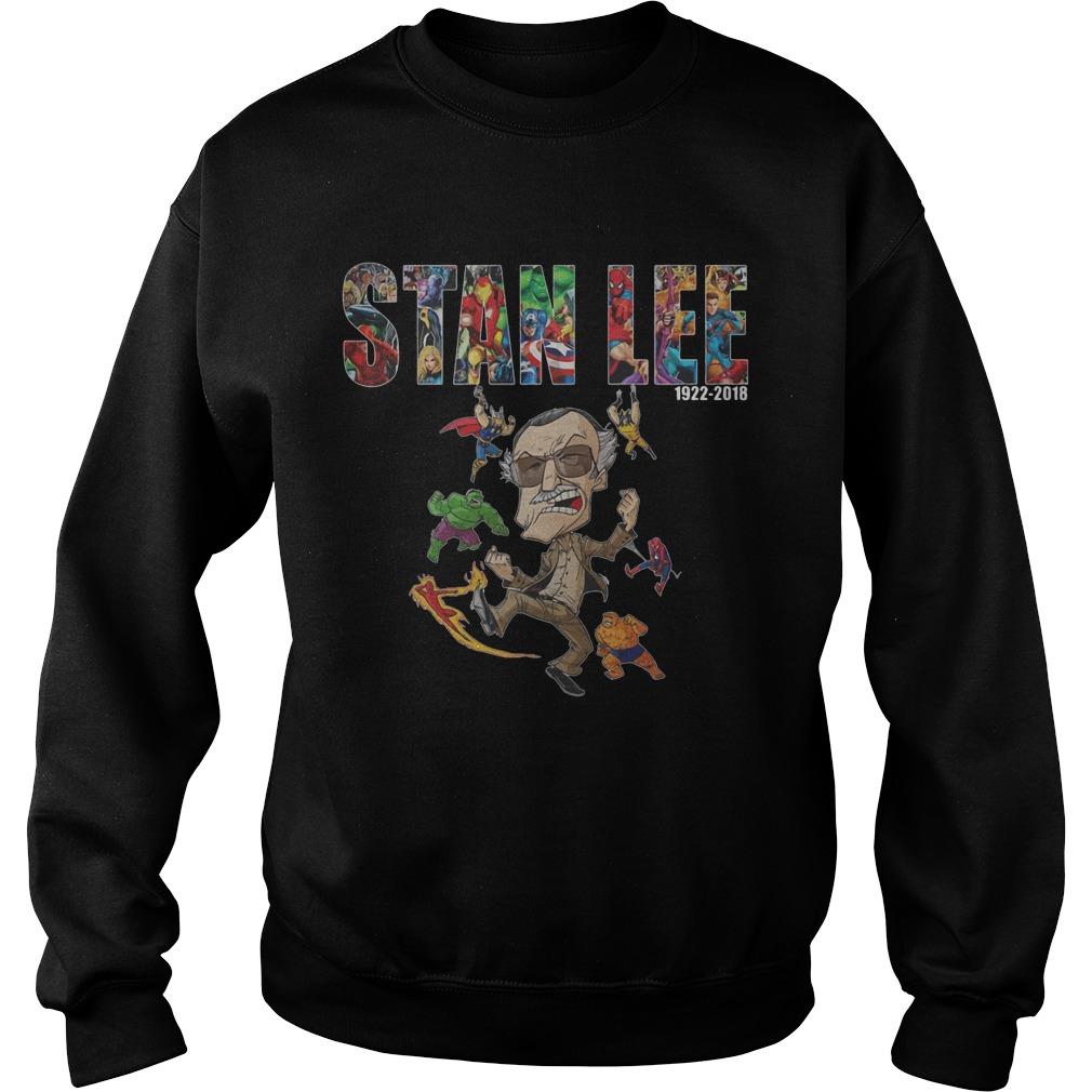 Marvel Stan Lee Avengers Hulk Comic Shirt sweater