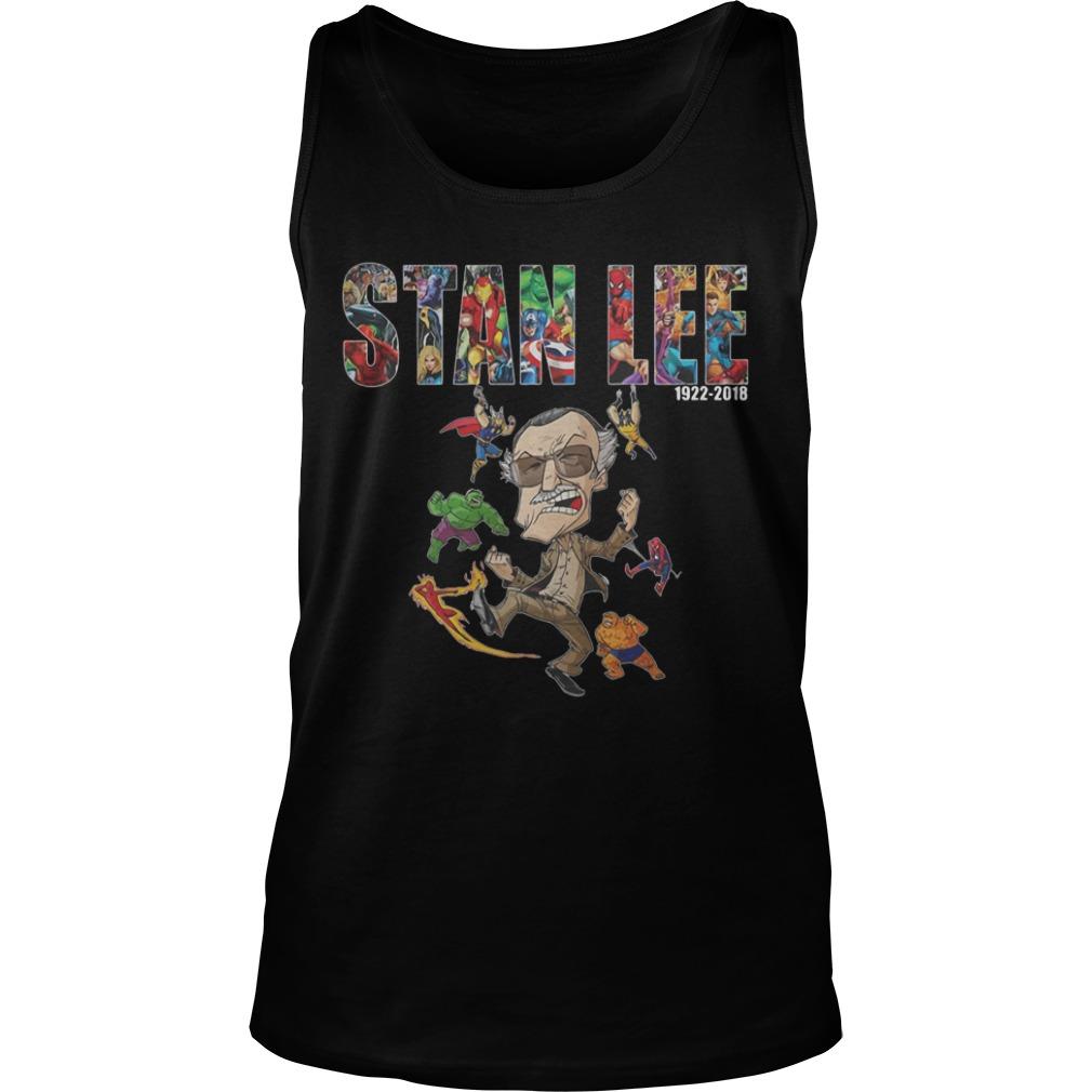 Marvel Stan Lee Avengers Hulk Comic Shirt tank top