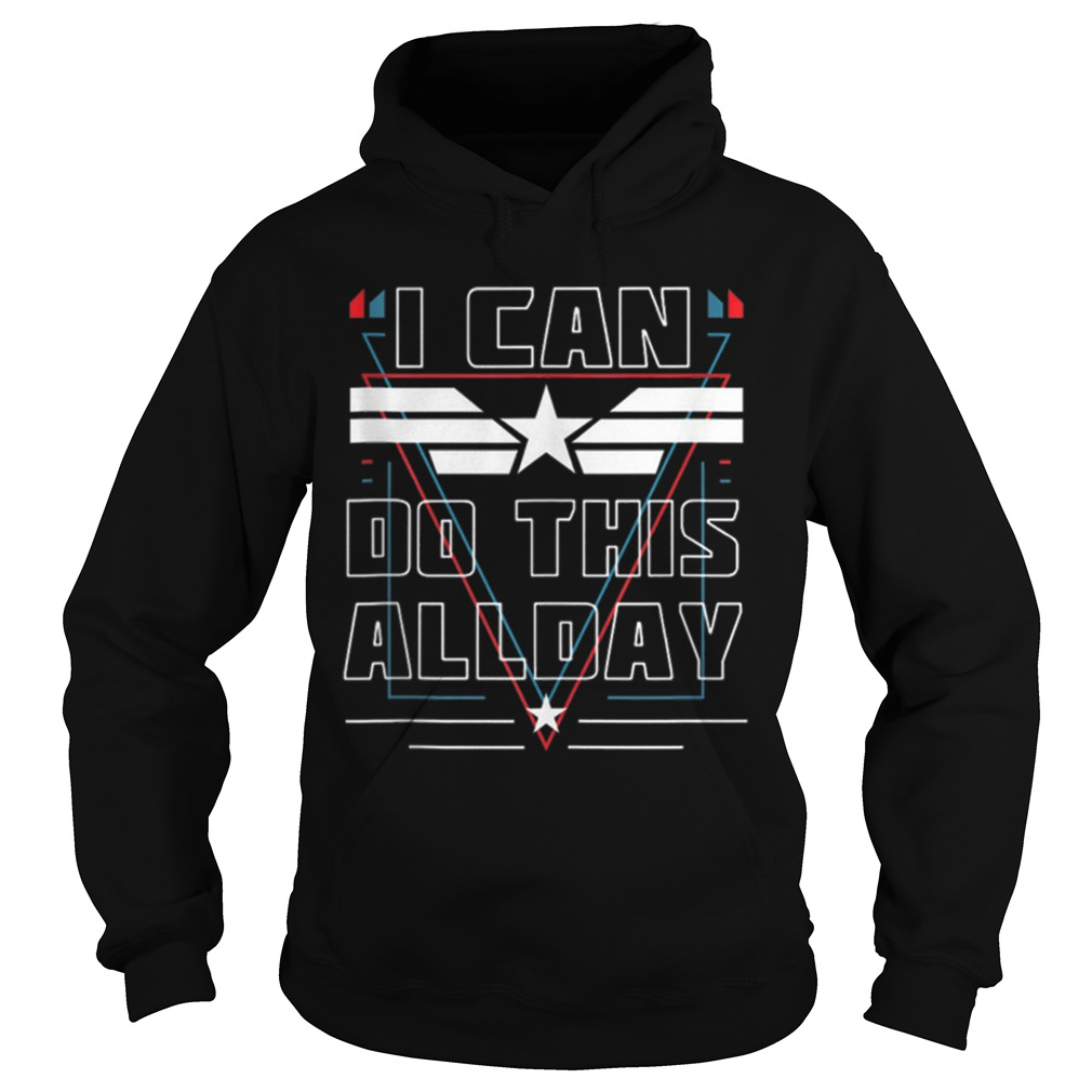 Nice I Can Do This All Day Captain America Shirt hoodie