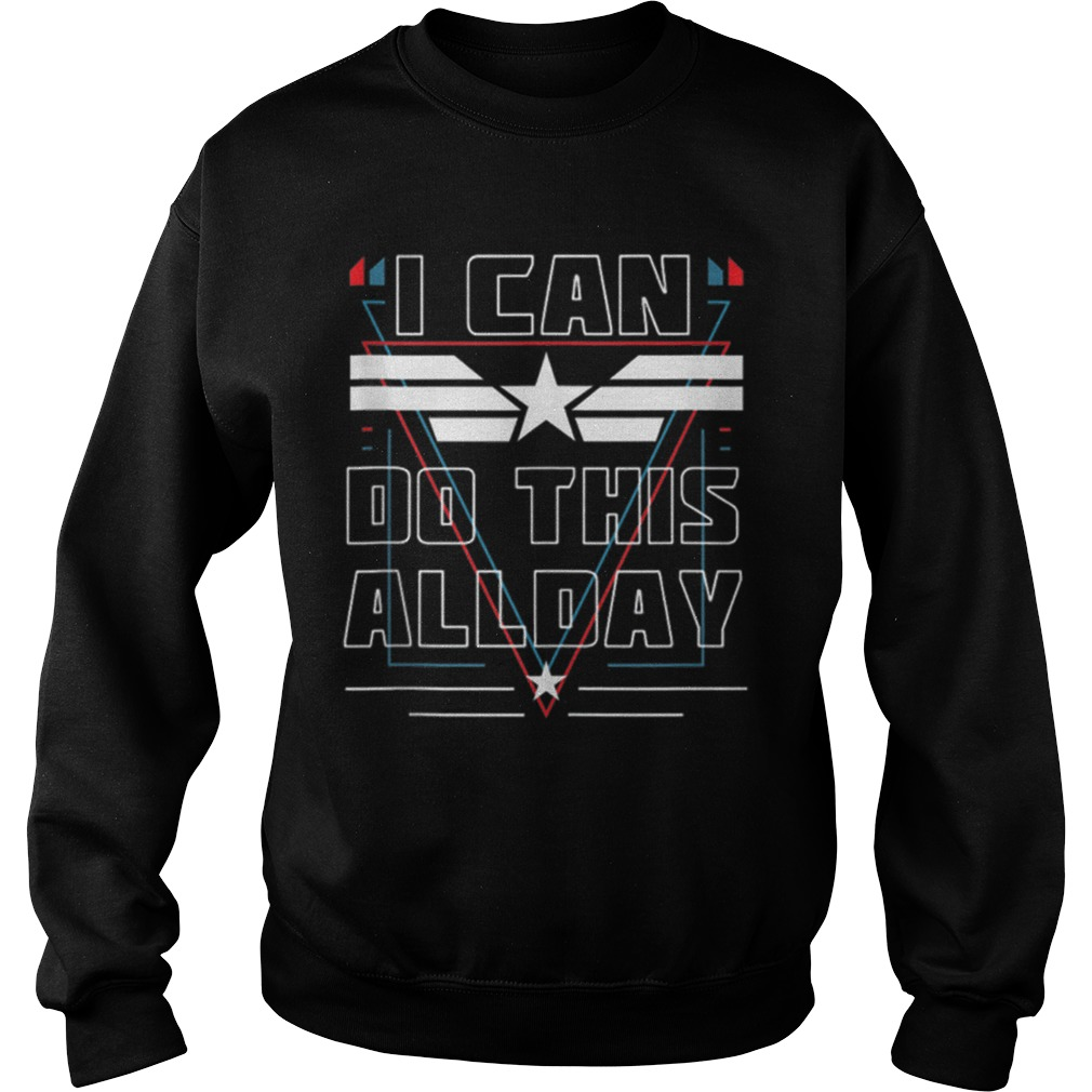 Nice I Can Do This All Day Captain America Shirt sweater