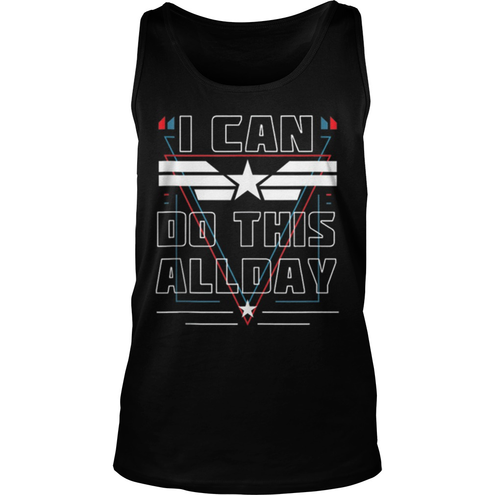 Nice I Can Do This All Day Captain America Shirt tank top