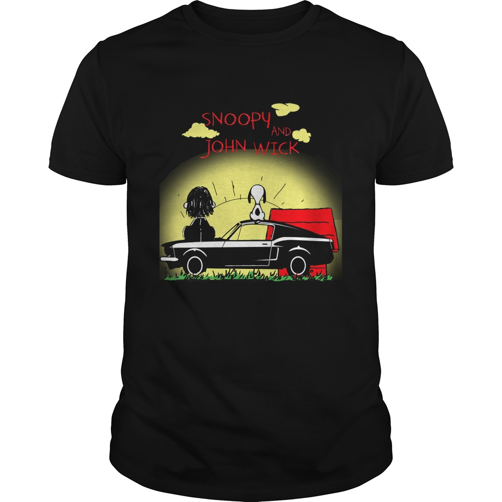 Snoopy And John Wick Sunshine Shirt