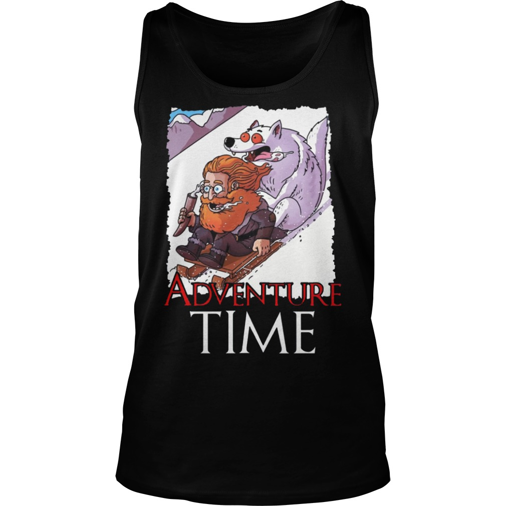 Tormund Giantsbane Snowboarding Adventure Time Game Of Thrones Shirt tank top