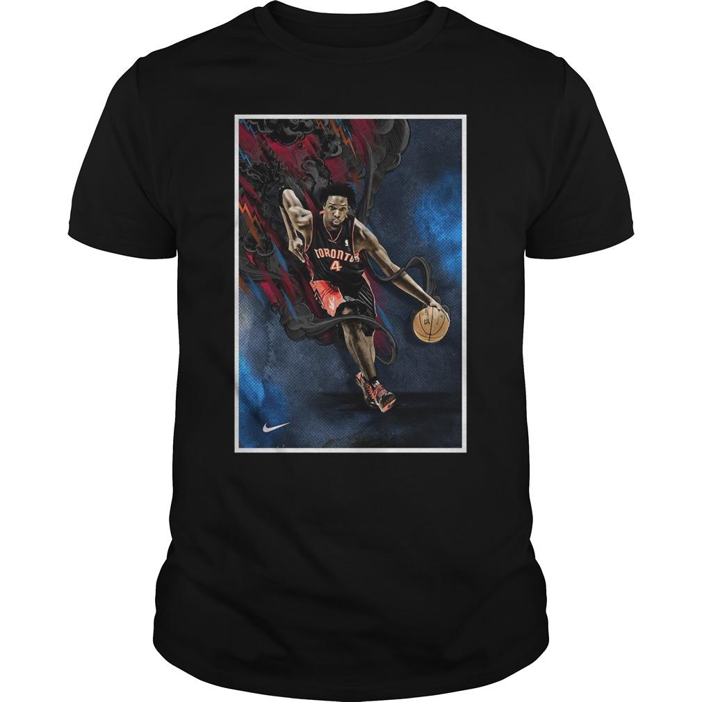 04 Toronto Raptor Basketball Shirt
