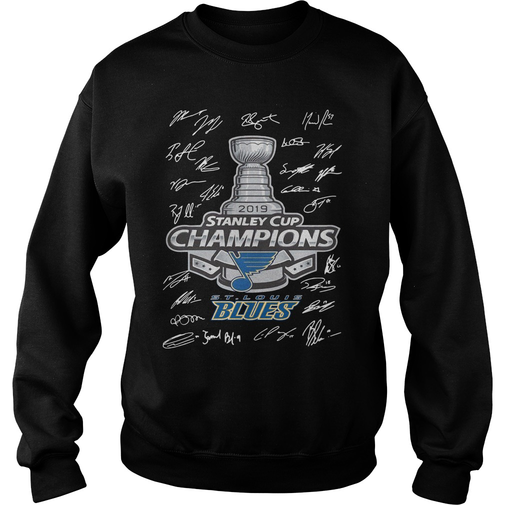 2019 Stanley Cup Champion St Louis Blues Shirt sweater