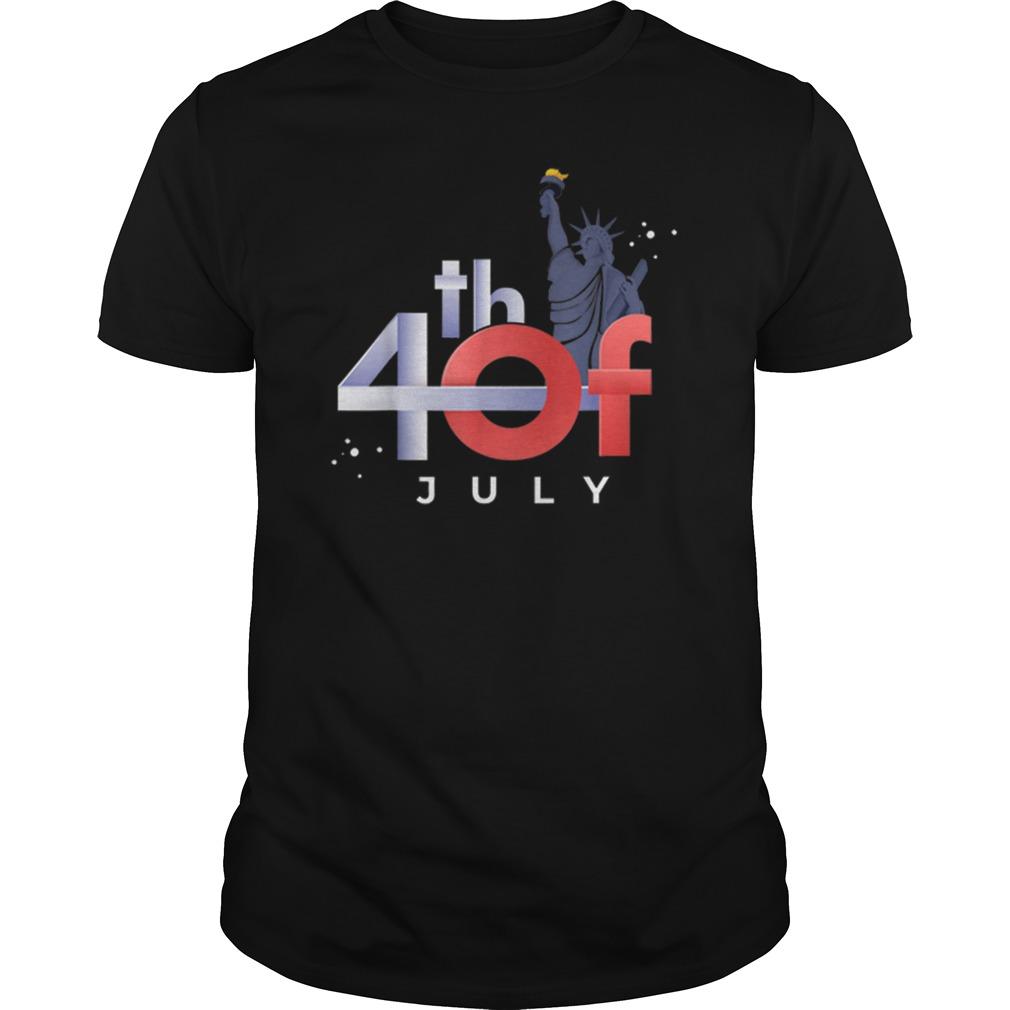 4th Of July Liberty Statue Idea American Flag Shirt