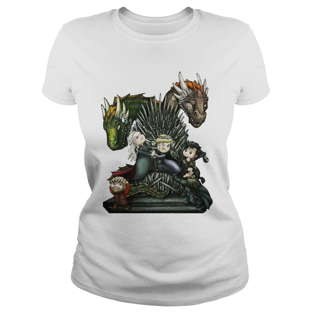 A Game of Thrones GOT Chibi Shirt ladies tee