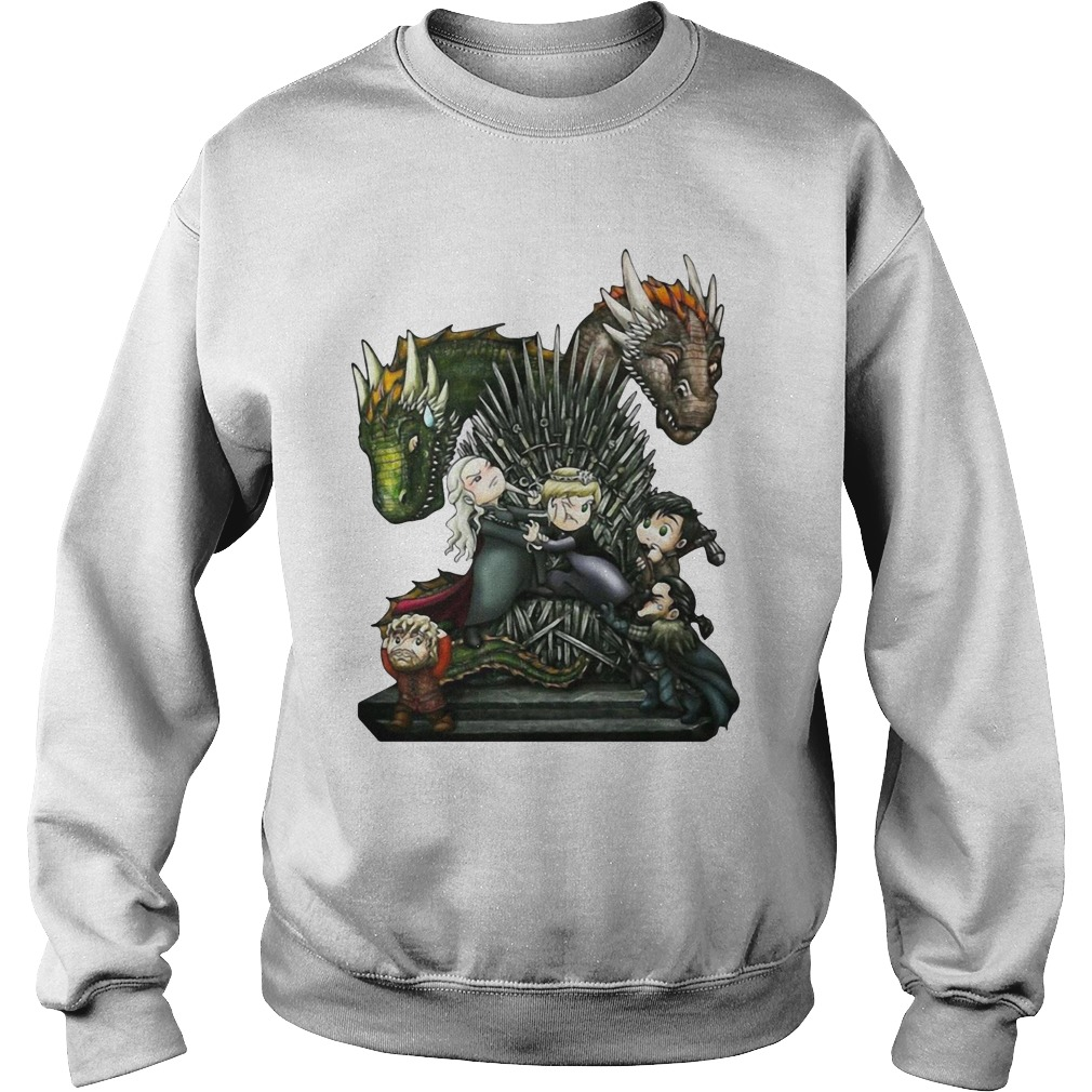 A Game of Thrones GOT Chibi Shirt sweater