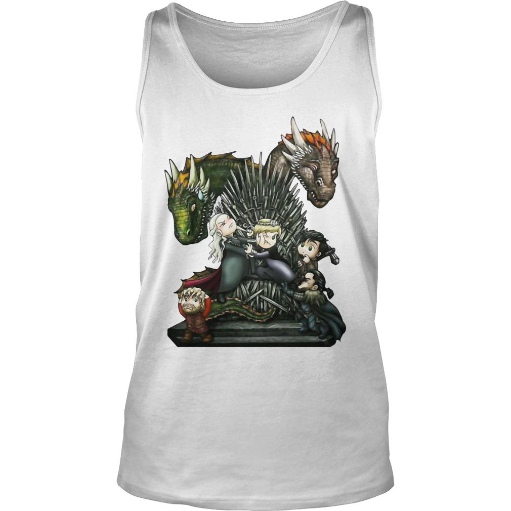 A Game of Thrones GOT Chibi Shirt tank top