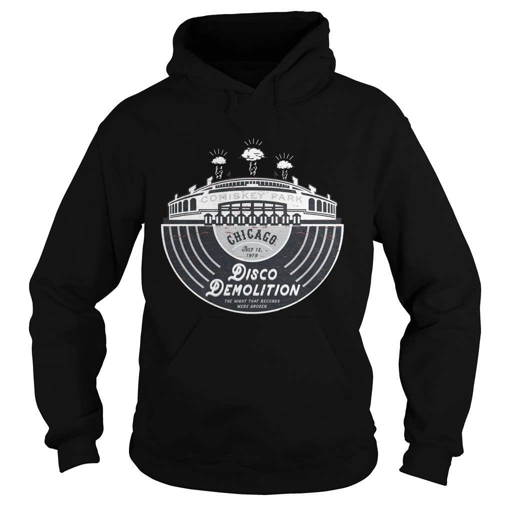 Disco Demolition Shirt hoodie